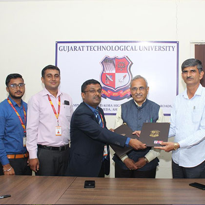 MoU with Gujarat Technological University